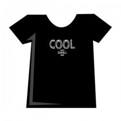 T-Shirt Damen COOL schwarz